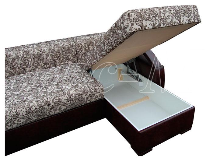 Марсель с оттоманкой (короткий бок) - мебельная фабрика Бис-М. Фото №4. | Диваны для нирваны