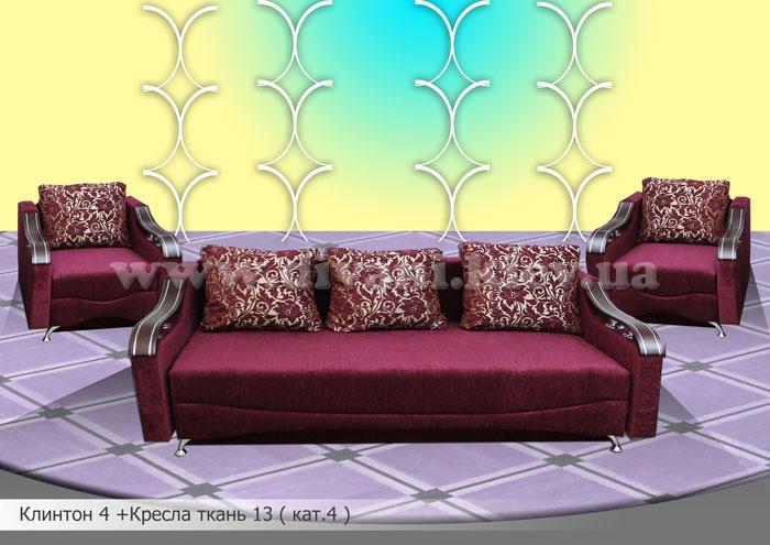 Клинтон-4 - мебельная фабрика Мебель Софиевки. Фото №18. | Диваны для нирваны